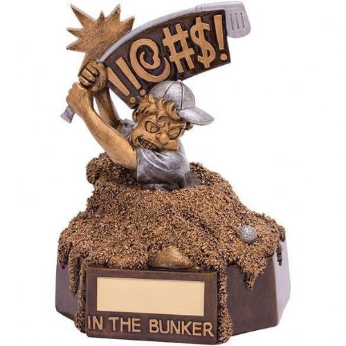 Bunker Blues Golf Award 155mm